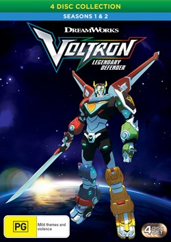 Voltron - Legendary Defender: Seasons 1 & 2 [DVD]