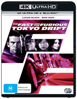 The Fast and the Furious: Tokyo Drift (4K Ultra HD + Blu-ray) [UHD]