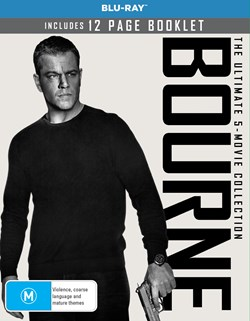 Bourne: The Ultimate 5-movie Collection (Box Set) [Blu-ray]