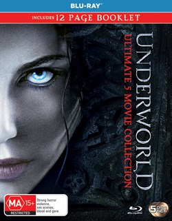 Underworld: Ultimate 5-movie Collection (Box Set) [Blu-ray]