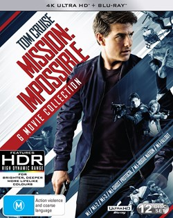 Mission: Impossible - The 6-movie Collection (4K Ultra HD Boxset) [UHD]