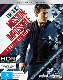 Mission: Impossible - The 6-movie Collection (4K Ultra HD + Blu-ray) [UHD]
