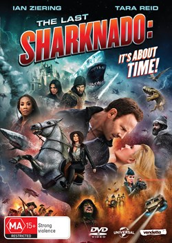 The Last Sharknado - It's About Time [DVD]