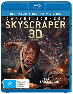 Skyscraper (3D Edition with 2D Edition + Digital Download) [Blu-ray]