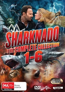 Sharknado: The Complete Collection (Box Set) [DVD]