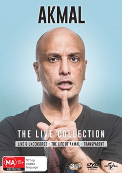 Akmal: The Live Collection (Box Set) [DVD]
