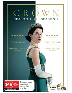 The Crown Season 1 & 2 (One & Two) Box  Set DVD Region 4 NEW [DVD]