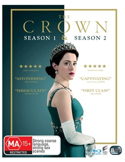The Crown Season 1 & 2 (One & Two) Box Set Blu-ray Region B NEW // PRE-ORDER [Blu-ray]