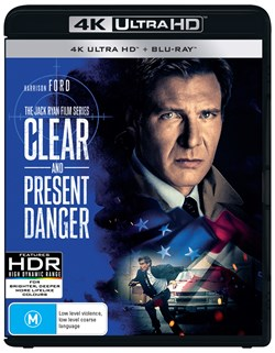 Clear and Present Danger (4K with Blu-ray) [UHD]