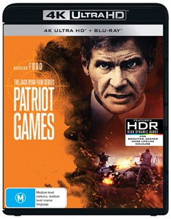 Patriot Games (4K with Blu-ray) [UHD]