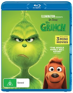 The Grinch - 2019 Release (with Digital Download) [Blu-ray]