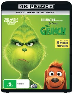 The Grinch - 2019 Release (4K Ultra HD + Blu-ray + Digital Download) [UHD]