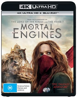 Mortal Engines (4K Ultra HD + Blu-ray) [UHD]
