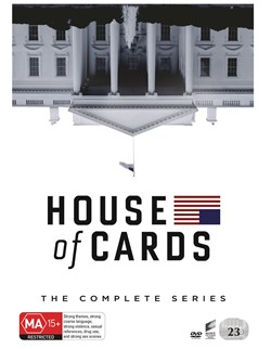 House of Cards: The Complete Series (Box Set) [DVD]