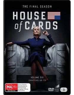 House of Cards: The Complete Final Season (Box Set) [DVD]