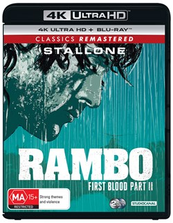 Rambo - First Blood: Part II (4K Ultra HD + Blu-ray) [UHD]