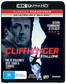 Cliffhanger (4K Ultra HD + Blu-ray) [UHD]