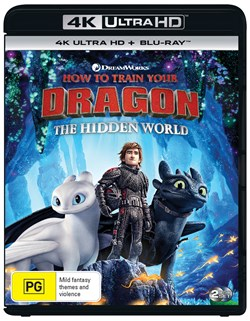 How to Train Your Dragon - The Hidden World (4K Ultra HD + Blu-ray) [UHD]