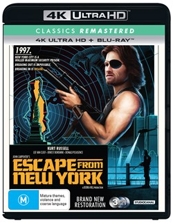 Escape from New York (4K) [UHD]
