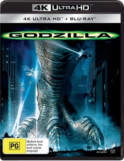 Godzilla (4K with Blu-ray) [UHD]