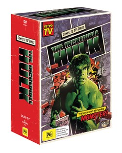 The Incredible Hulk: The Complete Seasons 1-5 (Box Set) [DVD]
