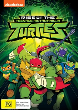 Rise of the Teenage Mutant Ninja Turtles [DVD]