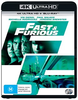 The Fast & the Furious 4 [UHD]                                          [UHD]