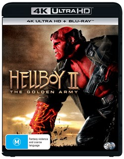 Hellboy 2 - The Golden Army (4K Ultra HD + Blu-ray + Digital Download) [UHD]
