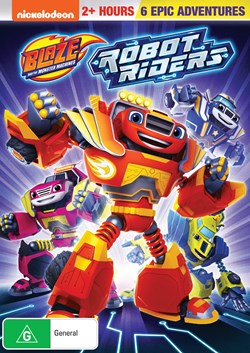 Blaze and the Monster Machines: Robot Riders [DVD]