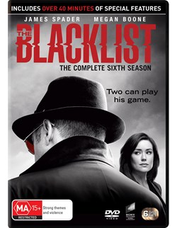 The Blacklist: The Complete Sixth Season (Box Set) [DVD]