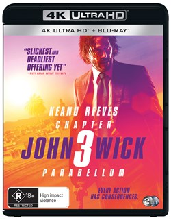 John Wick: Chapter 3 - Parabellum (4K Ultra HD + Blu-ray) [UHD]