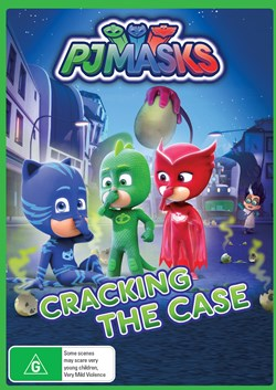 PJ Masks - Cracking the Case [DVD]