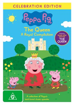 Peppa Pig: The Queen - A Royal Compilation [DVD]