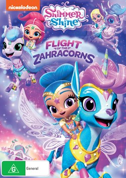Shimmer and Shine: Flight of the Zahracorns [DVD]