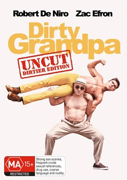Dirty Grandpa: Extended Edition - Longer and Dirtier [DVD]