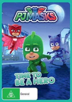 PJ Masks - Time to Be a Hero [DVD]