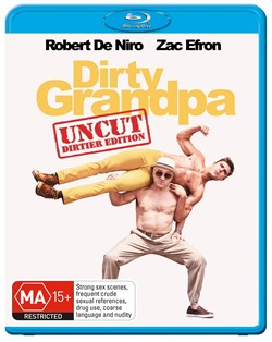 Dirty Grandpa: Extended Edition - Longer and Dirtier [Blu-ray]