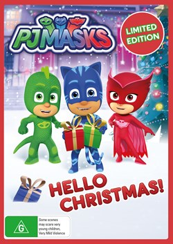 PJ Masks - Hello Christmas [DVD]