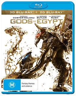 Gods of Egypt (3D Edition with 2D Edition) [Blu-ray]