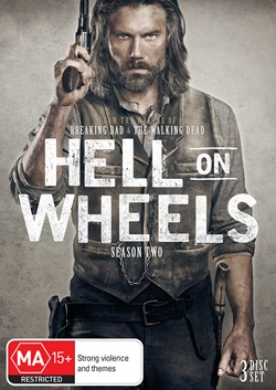 Hell On Wheels: The Complete Second Season (Box Set) [DVD]