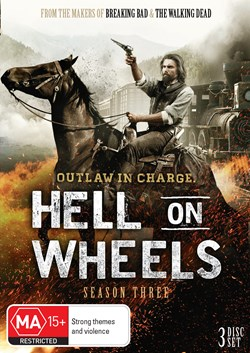 Hell On Wheels: The Complete Third Season (Box Set) [DVD]