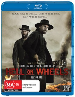Hell On Wheels: The Complete First Season (Box Set) [Blu-ray]