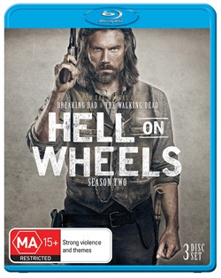 Hell On Wheels: The Complete Second Season (Box Set) [Blu-ray]