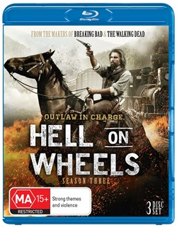 Hell On Wheels: The Complete Third Season (Box Set) [Blu-ray]