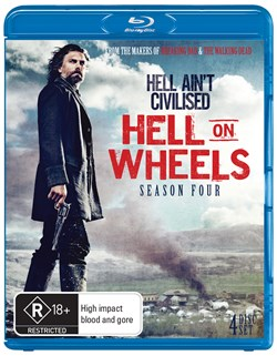 Hell On Wheels: The Complete Fourth Season (Box Set) [Blu-ray]