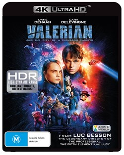 Valerian and the City of a Thousand Planets (4K Ultra HD + Blu-ray + Digital Download) [UHD]