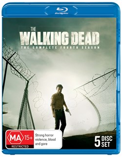 The Walking Dead: The Complete Fourth Season (Box Set) [Blu-ray]