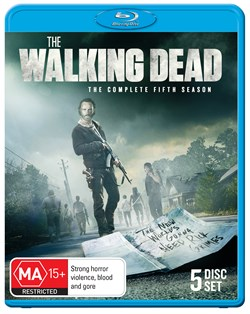 The Walking Dead: The Complete Fifth Season (Box Set) [Blu-ray]