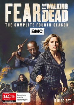 Fear the Walking Dead: The Complete Fourth Season (Box Set) [DVD]