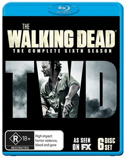 The Walking Dead: The Complete Sixth Season (Box Set) [Blu-ray]